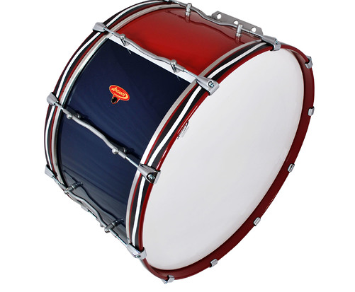 Advance Military Bass Drum Top View