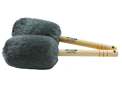 Bass Drumsticks Dark Grey