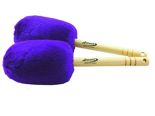 Bass Drumsticks Purple