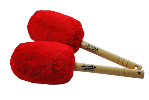 Bass Drumsticks Red