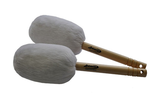 Bass Drumsticks White