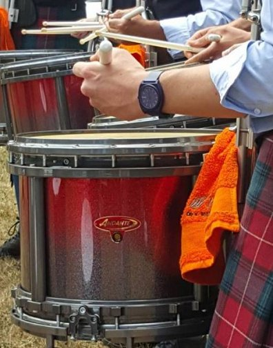 City of Whitehorse Australia, at the First Competition of the 2015 season, with their new drums.