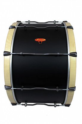 Front View of the Pro Bass Drum