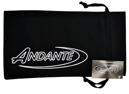 Andante Tenor Stick Bag Logo View