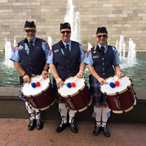 The Ambulance Victoria Pipes & Drums from Australia.